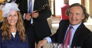 La Princesse Yourievsky et Monsieur Pierre-Emmanuel Taittinger, Président du Champagne Taittinger