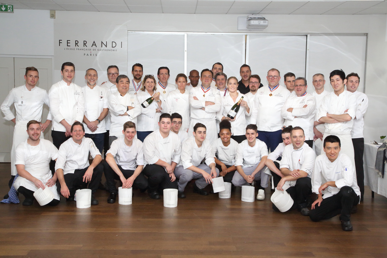 Jury + candidates 51st Prix Culinaire Le Taittinger