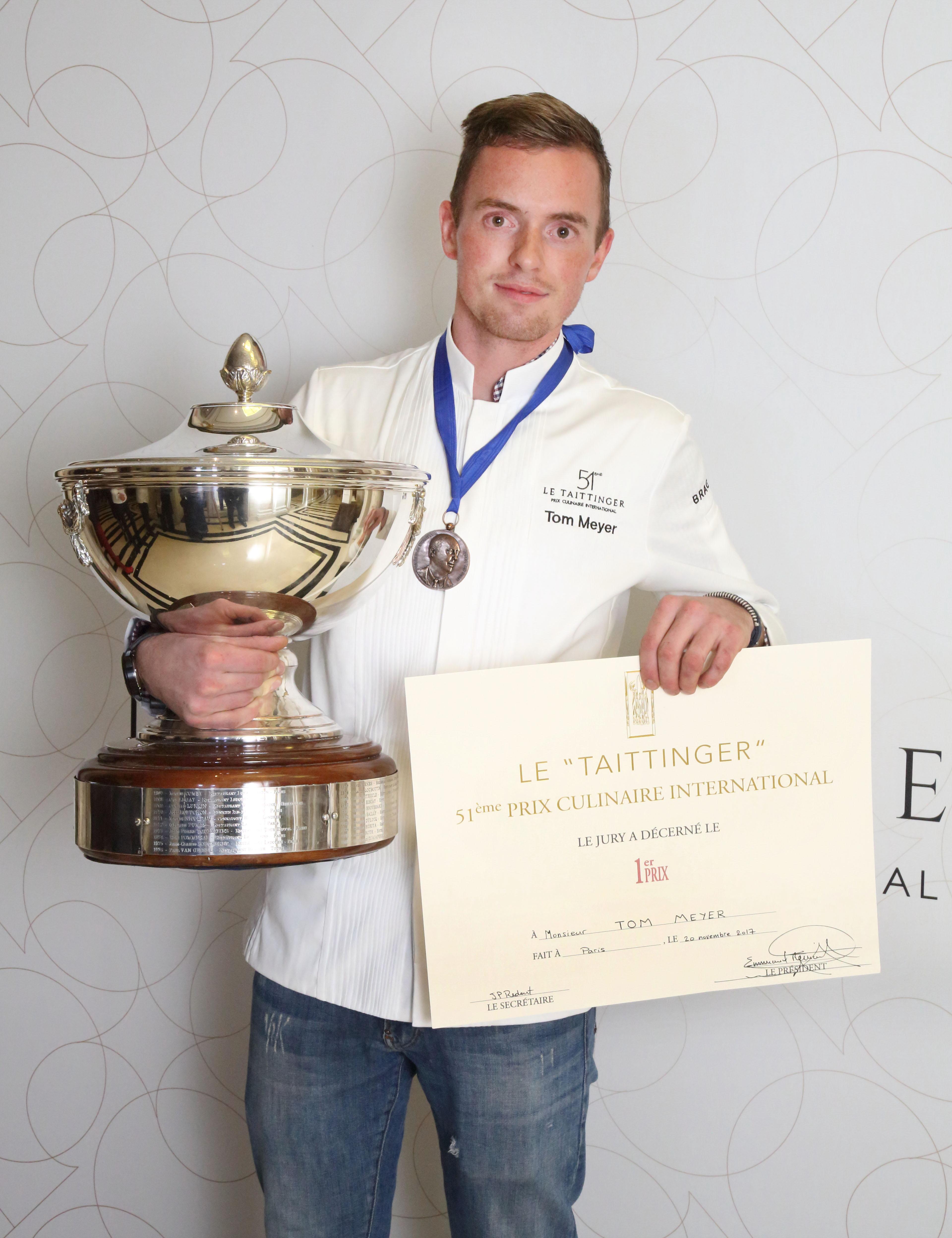 Tom Meyer 51st Winner of Le Taittinger