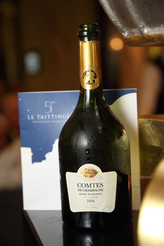 Comtes de Champagne 51st Prix Culinaire Le Taittinger